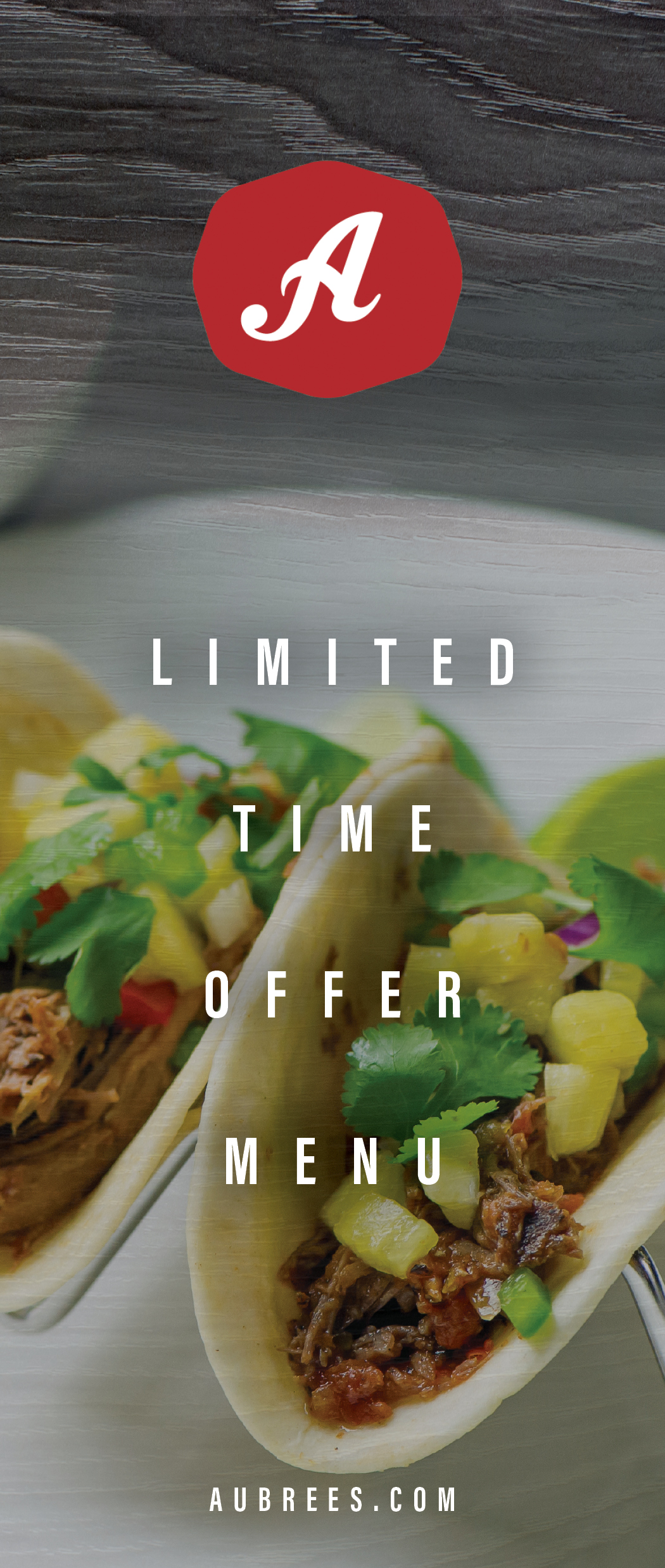 Limited Time Offer Menu
